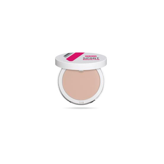 SPORT ADDICTED POWDER - SWEAT AND WATER RESISTANT COMPACT POWDER No.003