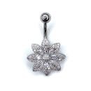 Belly Button Piercing (Silver color)
